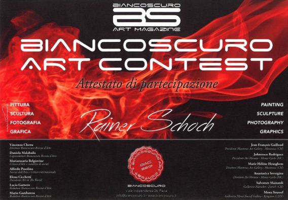 Biancscuro Art Contest